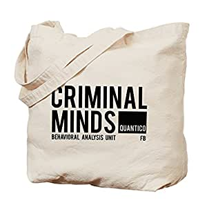 Cafepress–Criminal Minds Tote bag–Borsa di tela naturale, tessuto in iuta