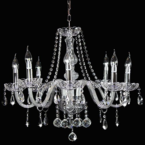 Dst Marie Therese Klar Kristall 8 Arm Hängende Lampen Kronleuchter D70cm  H60cm