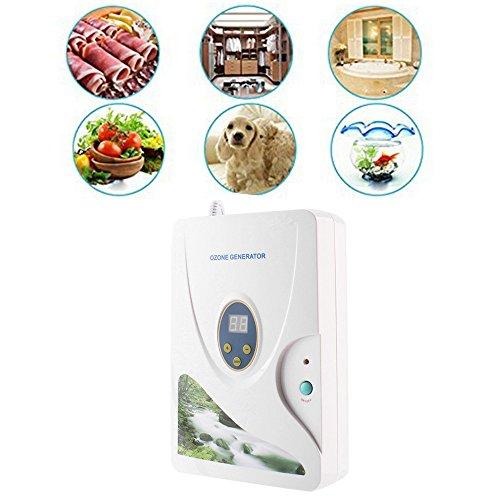 Ozonizador doméstico digital generador de ozono ionizador purificador de aire