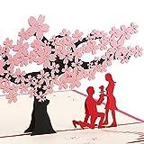 Hochzeitskarte, Hochzeitseinladungen, 3D Karten Grußkarten Hochzeit, 3D Pop up Karten Hochzeitskarten, Hochzeitsglückwunsch, Hochzeitstag, Hochzeitseinladung
