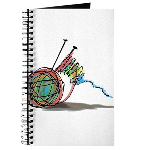 CafePress-Time to Knit-Spiralbindung Journal Notizbuch, persönliches Tagebuch, blanko (Garn Kaninchen Angora)