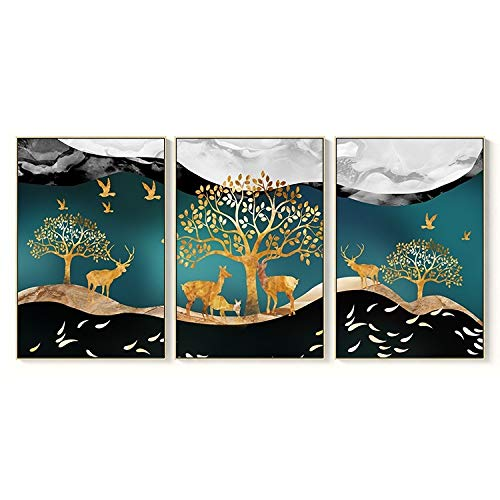 zlhcich Chinesische malerei Hause Schlafzimmer Dekoration malerei 012 30x40 cm -