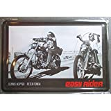 hotrodspirit - Plaque Easy Rider Motard tole Deco Affiche Metal Film culte