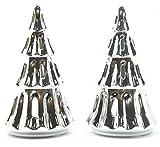 2x rare ufficiale Yankee Candle natalizia in ceramica portacandele decorazioni festive Season Accessories-Candele non incluse