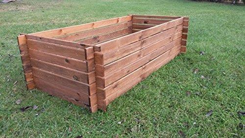 Holzkomposter Komposter neu braun KDI imprägniert
