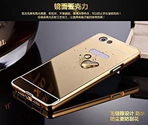 Luxury Mirror back cover for Oppo Neo 7 Golden