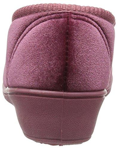 Dunlop - Emily, Pantofole Donna Viola (Purple (Heather))