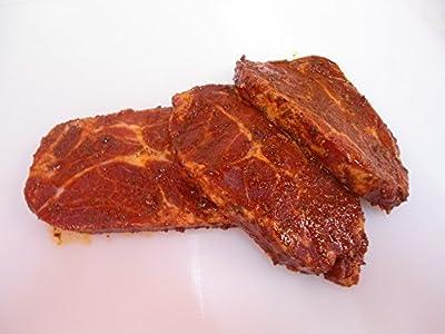 Schweinenackensteaks fertig Gewürzt zum Grillen Steak