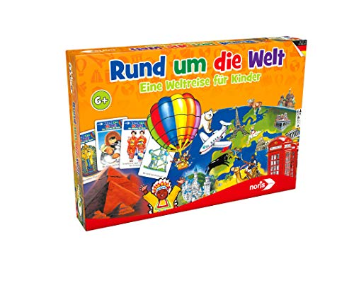 Noris 606011634 - Rund um die Welt, Quizspiel