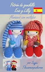 Patrón de ganchillo Evie y Lilly – Muñecas con vestidos