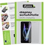 dipos I 2X Schutzfolie matt passend für BQ Aquaris X Pro Folie Bildschirmschutzfolie