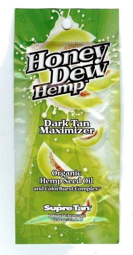 Supre Tan Honey Dew Hemp Dark Tanning Maximiser with Natural Hemp Seed Oil Sachet 15ml