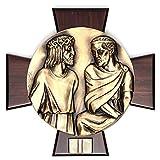 Holyart Vía Crucis 14 Estaciones latón Fundido sobre Placa