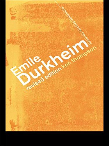 Emile Durkheim (Key Sociologists)