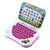 Fdit Baby Interactive Learning Pad Tablet Bilingual Educational Learning Study Toy Laptop Computer Game for Toddlers