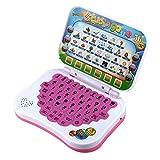 Baby interaktive LerncomputerLernunterlage Tablet zweisprachige pädagogische Lernstudie Spielzeug Laptop Computerspiel für Kleinkinder