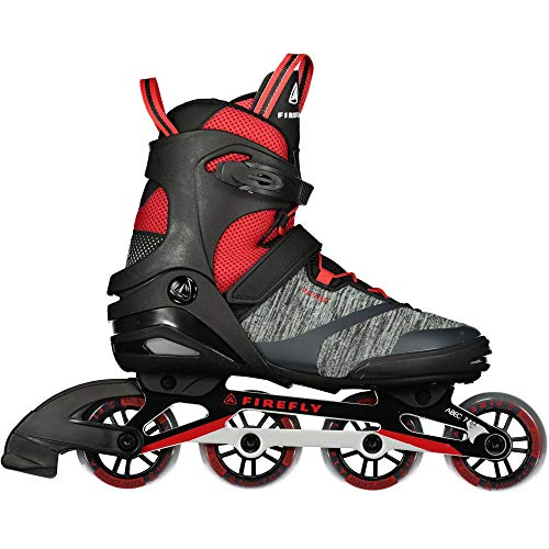 Firefly Herren Ils 310 M84 Skateboardschuhe, Schwarz (Black/Red 900), 42 EU