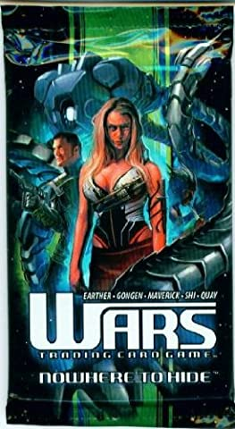 Wars Nowhere to Hide Trading Card Game Booster Pack 15 Cards