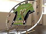 FanPlastic Shahid Afridi 10Pakistan Cricket Desktop-Uhr–Cricket Legends Limited Edition–Boom Boom Afridi.