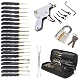 Sky-Welle 32 tlg Lockpicking Pick-Set Schloss knacken Öffner Dietriche Schlosserei