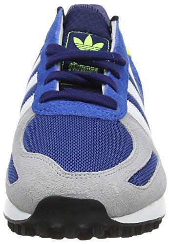 adidas La Trainer, Chaussures de Running Compétition Homme Bleu - Blue (Eqt Blue S16/Ftwr White/Solar Yellow)