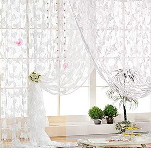gosear-mariposa-patron-borla-cadena-puerta-cortina-ventana-cortina-separador-de-ambientesblanco