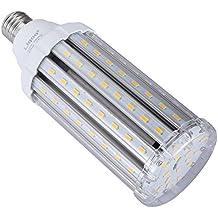 Liqoo® E27 30W Bombilla LED Lámpara Aluminio y Plástico Blanco Cálido 2800K AC 85-265V Ángulo de Haz 360° 3000 Lumen Sustituye la lámpara Halógena de 150W