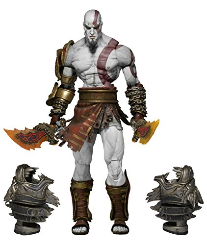 God Of War 3 - último Kratos Deluxe 18 Cm