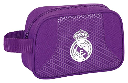 Real Madrid – Neceser 22 cm, 2ª equipacion temporada 2016/2017 (Safta 811677234)
