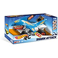 Price comparsion for mondo R/C 1: 24Scale Hot Wheels Shark in–Full Function and Mouth Movement–Lights–Hard Body–Works with: 3+ 2AA Batteries