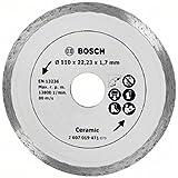 Bosch 2607019471 Disque diamant carrelage 110 X 22,23 X 1,7 mm