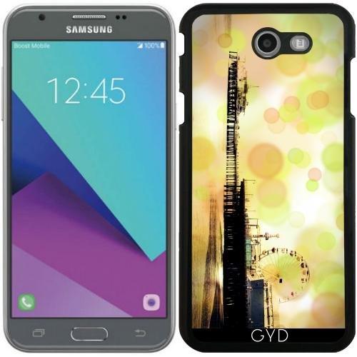 Hülle für Samsung Galaxy J7 2017 (SM-J727) - Grüne Sprudelnde Pier by Christine aka stine1