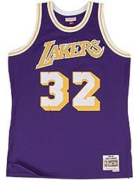 Mitchell & Ness Magic Johnson # 32Los Angeles Lakers 1984–85swingman NBA Maillot Violet