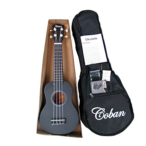 coban-soprano-ukulele-in-4-great-colours-slight-marks-dark-blue-purple-black-and-light-blue-includes