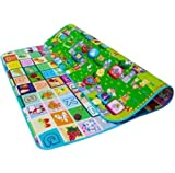 Pattern: Animal, numbers, letters and so on, Surface water treatment, wipe clean very convenient, You Can Use Both side., Whether at home, the beach, or park, Great for the babies entertainment, Size: 180 x 150cm (L X W), 0.7-1cm (Thickness)
