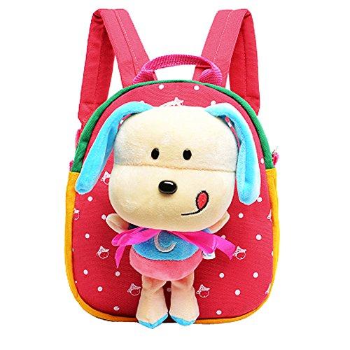 51 UzUraK7L UK BEST BUY #1Moolecole 3D Cartoon Cute Animal Schoolbags Hiking Travel Preschool Toddler Backpack Kids Kindergarten Enviromental Kids Shoulder Bag Red price Reviews uk