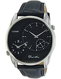 Citizen Analog Black Dial Men's Watch - AO3009-04E