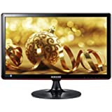 Samsung S23A350H 23 inch Widescreen LED monitor (MEGA DCR, 1920 x 1080 Full HD, 2ms, HDMI/VGA) - Gloss Black