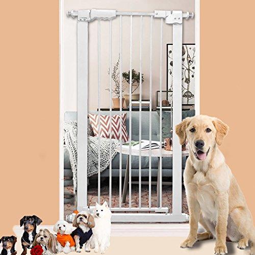 Extra Breites Hohes Baby-Tor Druck-angebrachte Innensicherheits-Tore Für Treppen-Flur-Tür-Weiß-weißes Geöffnetes 61-159cm Weit (größe : 100-110cm) (Die Tore Weit Hund)