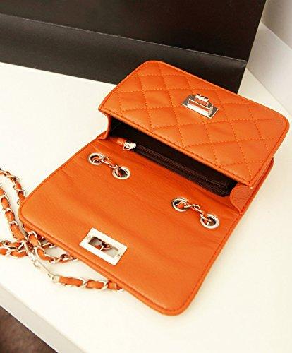 WiTa-Store, Borsetta da polso donna bianco H140 Orange 6