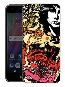 "Humor Gang Jimi Hendrix Poster Printed Designer Mobile Back Cover For ""Google Infocus M812"" (3D, Matte Finish, Premium Quality, Protective Snap On Slim Hard Phone Case, Multi Color)"