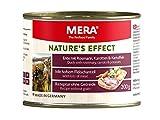 MERA NATURE'S EFFECT Nassfutter, Getreidefreies Premium Hundefutter mit Ente, Rosmarin, Karotten und Kartoffeln, 6x200g