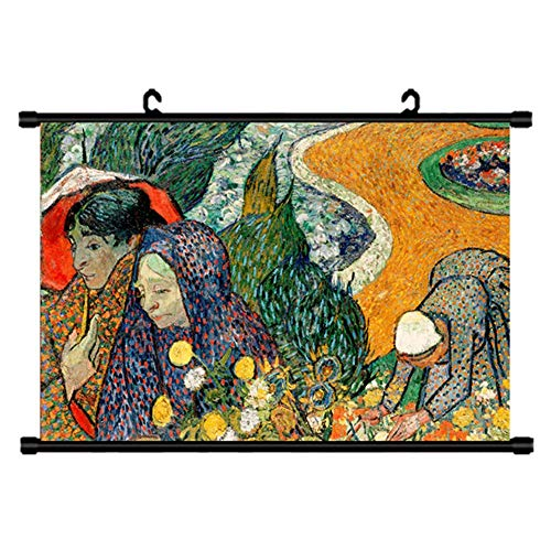 Preisvergleich Produktbild ZFW Wandtattoos & Wandbilder Weltberühmte malerei ölgemälde dekorative malerei rollbild b31-60 * 90cm + Schwarze Stange