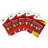COM-FOUR 5 Stück Wärmekissen Wärmepad für den ganzen Körper - selbstklebend 9,5 x 12,5 cm - wärmt bis zu 8 Stunden preisvergleich bei billige-tabletten.eu