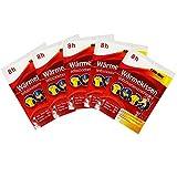 COM-FOUR 5 Stück Wärmekissen Wärmepad für den ganzen Körper -