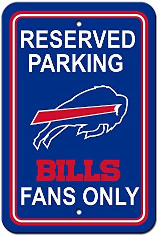 Fremont Die NFL Buffalo Buffalo Buffalo Bills Plastic parking Sign | Stili diversi  | The Queen Of Quality  | Vari disegni attuali  | comfort  d49e86