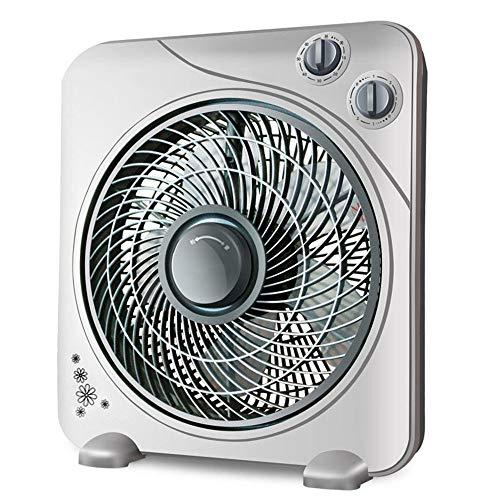 DYR Elektrischer Ventilator, Mini-Desktop-Ventilator/Haushaltslärmarmer Tischventilator/Studentenbüro Schlafsaal-Raumventilator/Sturmvolumen/Energiesparventilator-Lüfter (Farbe: B)