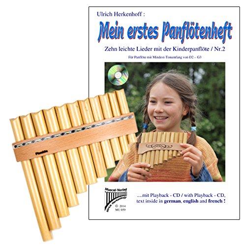 Panflötenset Noten, Panflöte+ CD Plaschke 1