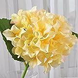 ShiQi Fiori artificiali rami corti sfera bouquet nuziale Salotto Champagne floreali per matrimoni Festival decorazione per banchetti
