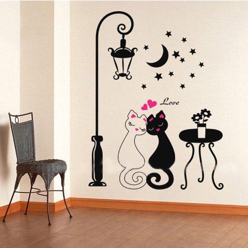 anself-stickers-muraux-animal-paroi-murale-de-couple-de-chat-sticker-mural-autocollant-dcoration-vit